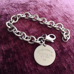 Tiffany & Co. Jewelry - Return to Tiffany's Sterling Silver Bracelet